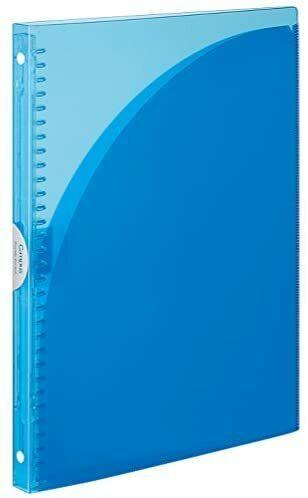 Kokuyo File Campus Binder Notebook 30 Holes Up to 65 Sheets A4 Light Blue