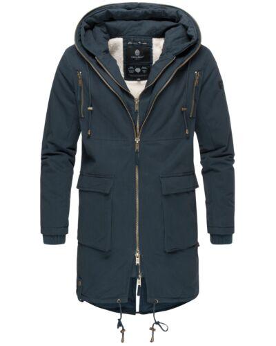 Navahoo Uomo Giacca Invernale Parka cappotto inverno cappotto foderato cappuccio Assassin