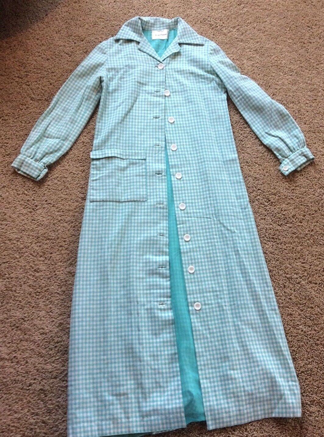 Vintage Jean Patou Coat Dress