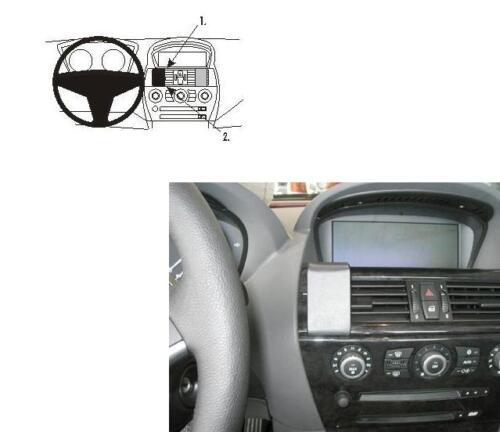 Brodit soporte 853541 bmw 6er e63 e64 2004-2010 GPS Navegación soporte consola