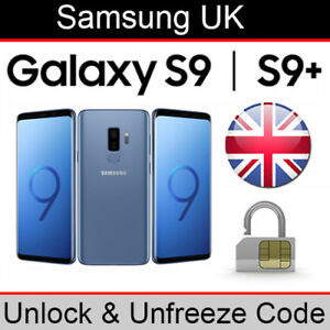 Details about Samsung Galaxy S9/S9+ Unlock & Unfreeze Code (ALL UK Networks  Supported)