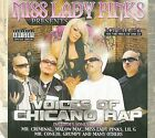 Voices of Chicano Rap [Box] [PA] by Miss Lady Pinks (CD, Aug-2009, 3 Discs, Hi Power Ent.)
