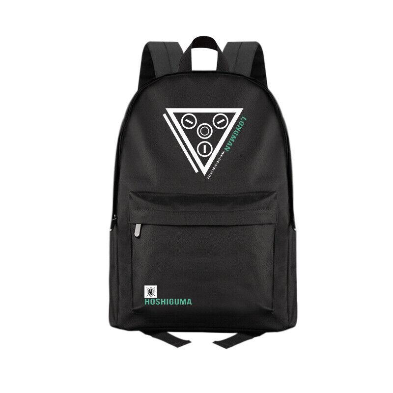 Anime Arknights Black Casual Fashion Backpack Shoulders Bag Schoolbag #M08