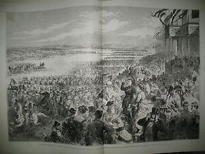 LONGCHAMPS-REVUE-ARMeE-DE-PARIS-HAMBOURG-NAVIRE-PRUSSIEN-TEUTONIA-GRAVURES-1871