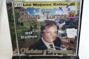 Los-Megores-Exitos-Juan-Torres-20-Exitos-Music-CD-NEW