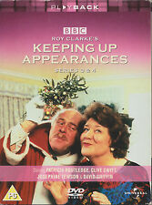 KEEPING UP APPEARANCES - Series 3 & 4 (3xDVD BOX SET04)