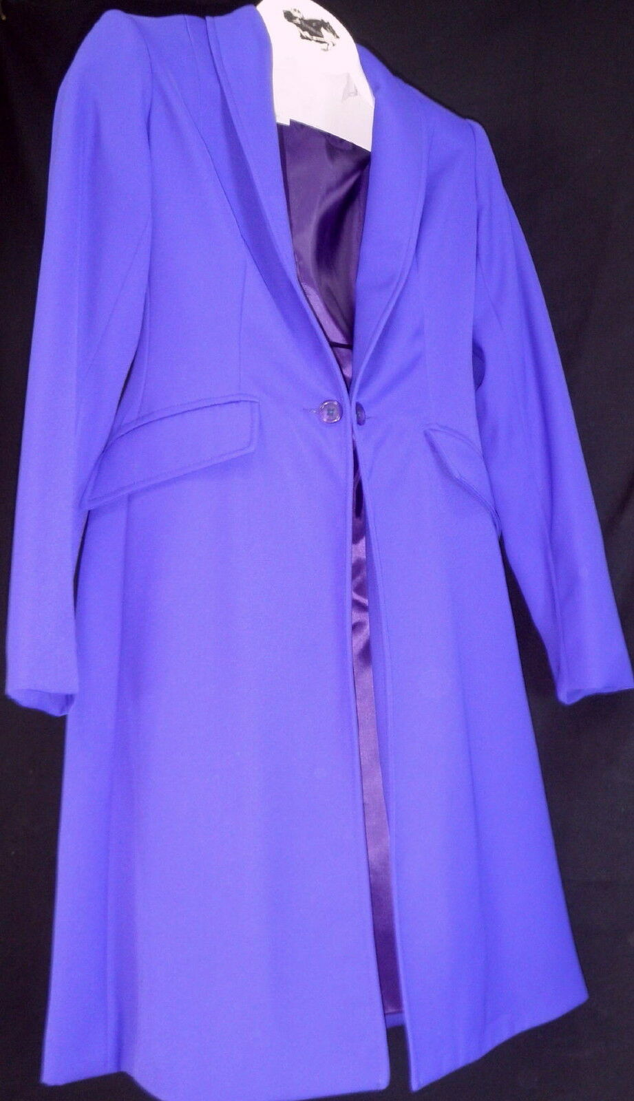 Reed Hill Ladies  Saddleseat Day Coat Purple Polyester size 10 - USA  amazing colorways
