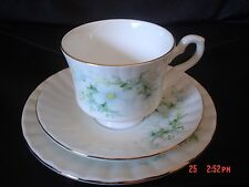 Pretty Royal Stafford Bone China Trio BLOSSOM