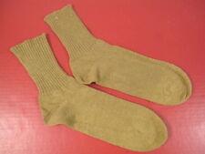 WWII Era US Army/USMC Enlistedman Cotton Uniform Socks - Khaki Color Sz 12