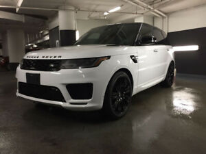 2018 Range Rover Sport Autobiography White on Red