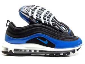 Details about NIKE AIR MAX 97 BLACKBLUE NEBULA WOLF GREY SIZE MEN'S 10.5 [921826 011]