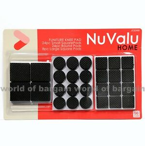 56-Anti-Skid-RUBBER-PADS-Furniture-Table-Self-Stick-Floor-Scratch-Protection-H33
