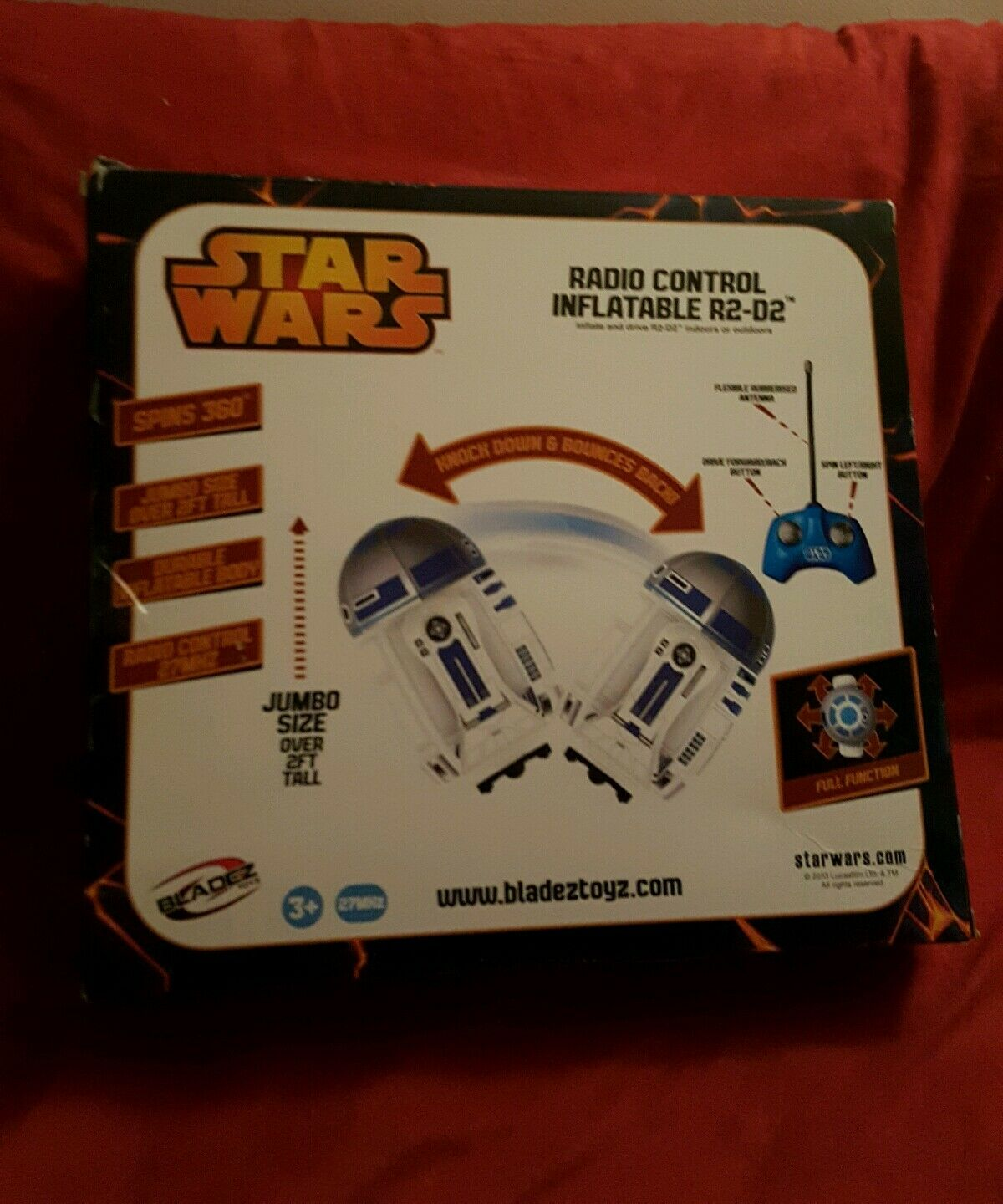 Star Wars R2-D2 Inflatable Droid R C Remote Control Controlled Controlled Controlled NIB International 18d95f