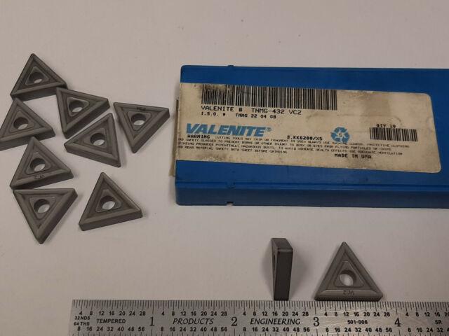 10pcs TNMG 332LM SV315 VALENITE Carbide Inserts 517