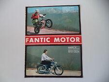 advertising Pubblicità 1972 MOTO FANTIC DIABLO SUPER ROCKET/TI 50