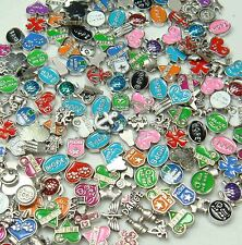 Wholesale GOOD QUALITY 40pcs Floating Charms for Glass Living Memory Locket Gx1