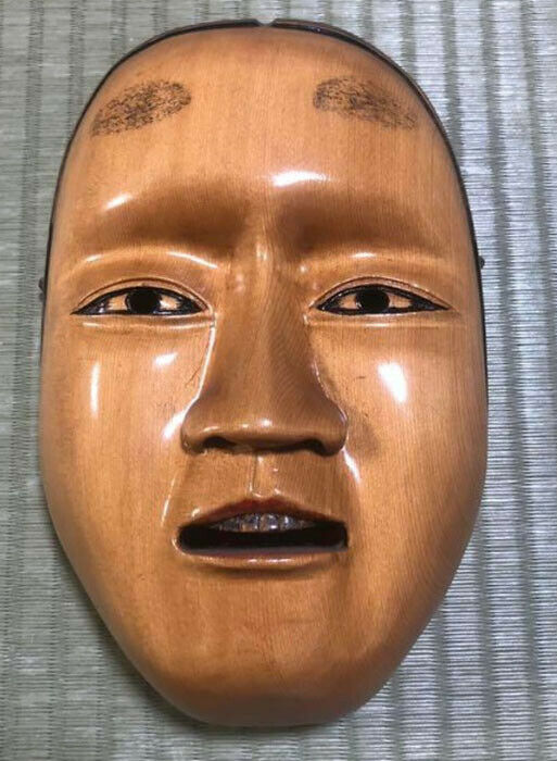 Noh mask Kagura mask Hannya Oni Authentic Handmade F S Good for Halloween
