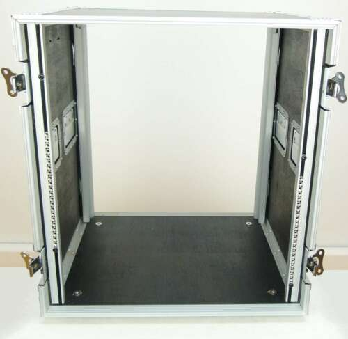 12HE Flightcase Amprack Endstufenrack 47cm tief ROADINGER Verstärkerrack PR-2