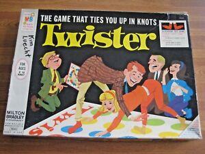 Vintage Milton Bradley Twister Board Game Complete