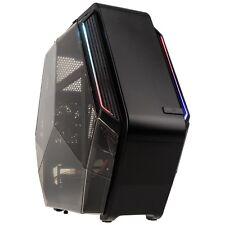 Kolink K6T Micro ATX Gaming Cube RGB LED Desktop PC Computer Gaming Custodia Nera