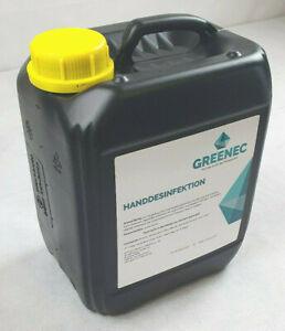 5-Liter-GREENEC-Desinfektionsmittel-Handdesinfektion