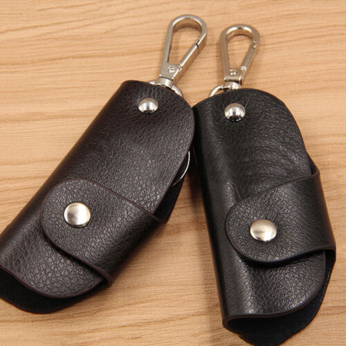 BG/_ Fashion Multifunctional Men Wallet Genuine Leather Car Key Case Holder Pouch