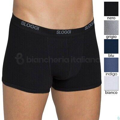 Sloggi Boxer Uomo Basic Short Bipack Colore Grigio