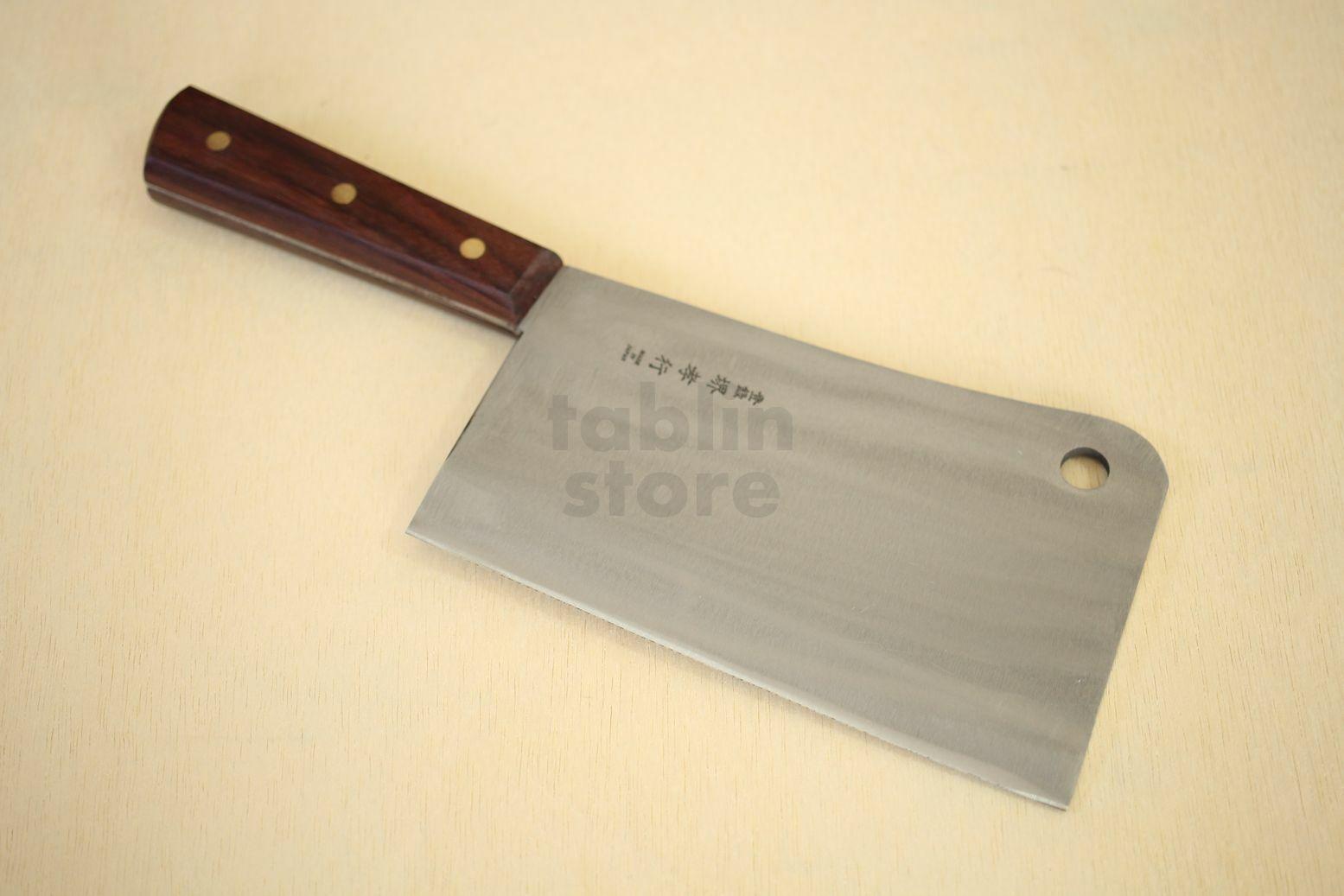 SAKAI TAKAYUKI CLEAVER CLEAVER CLEAVER KNIFE SK steel hole F S cf8069