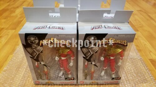 Nouveau Bandai Power Rangers Legacy Collection Armored Red Ranger Figure GameStop EX