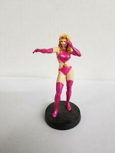 2011 EAGLEMOSS LEAD FIGURE  DC'S SATURN GIRL