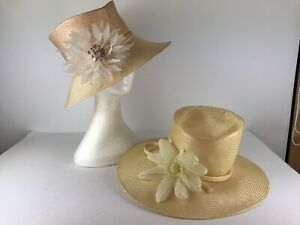 WHITELEY X 2  Ladies Hats Weddings Races Special Occasion