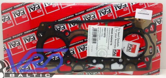FORD FIESTA FUSION 1.4 TDCI ENGINE HEAD GASKET 1.45mm F6JA F6JB