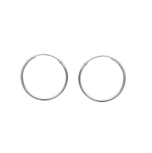 Boucles d/'oreilles Créoles 3 cm Classique ARGENT NEUF