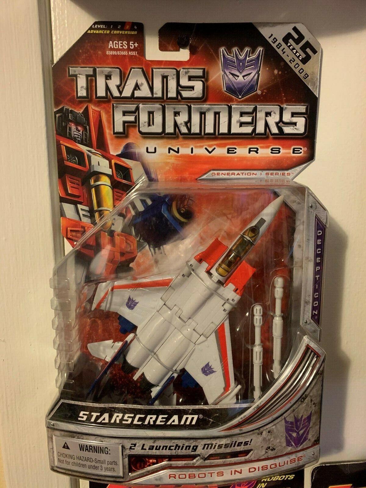 estrellascream  Transformers Universe  25th Anniversary MOSC MOC LQQK  nuovo