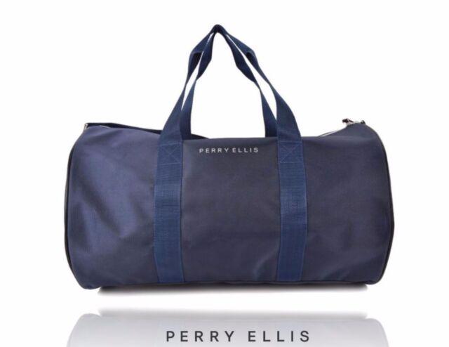 Perry Ellis Aqua Extreme Sports Duffel Travel Bag W Shoulder Strap