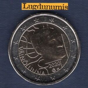 2 Euro Commémo Finlande 2020 Vaino Linna – Finland