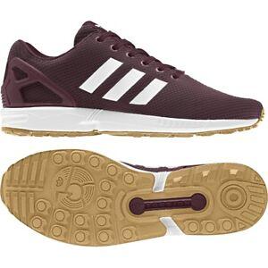 ... Scarpe-Adidas-Uomo-Zx-Flux-Bordeaux-CQ2831