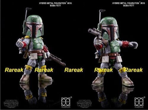 86hero 2015 Herocross Hybrid Metal Figuration #016 Star Wars Boba Fett Figure