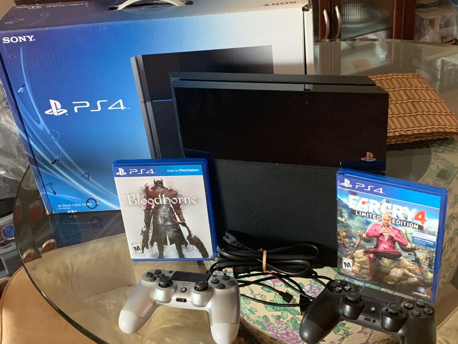 Sony PlayStation 4 Console 2TB Console + Bloodborne + Far Cry 4