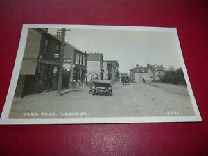 RP-Postcard-Laindon-Andrews-Post-Office-Essex-Rover-Motor-Car-F9225-Padgett