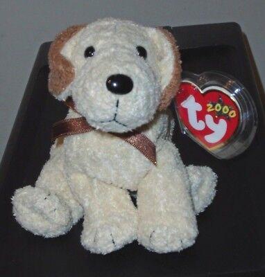 MWMT Ty Beanie Baby ~ RUFUS the Dog 5.5 Inch