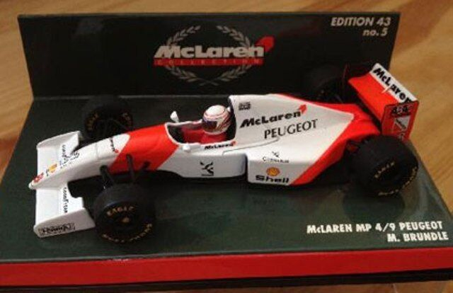 MINICHAMPS McLAREN F1 model cars M Brundle   N Mansell   M Hakkinen 1994-99 1 43
