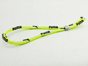 PUMA-Surfer-Armband-Bracelets-Textil-Neongelb-Schwarz