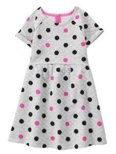 NWT Gymboree Dots Dress Christmas Girls Holiday Many Sizes