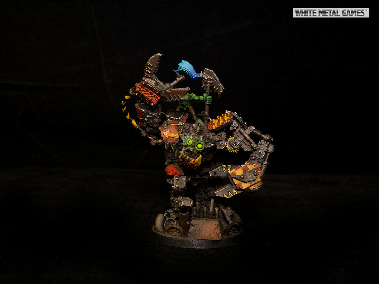 Warhammer 40k Ork Runt Bot And Gred Controller Forgeworld Forge World Refurb PAP