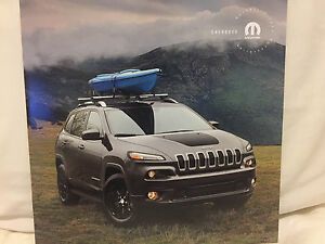 2017 Jeep Cherokee Accessories >> Details About 2017 Dodge Jeep Grand Cherokee Accessories Motor Car Sales Brochure Book