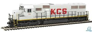 HO-WALTHERS-Mainline-910-10358-KANSAS-CITY-SOUTHERN-SD50-713-Decoder-Ready