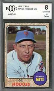 Gil-Hodges-Card-1968-Topps-27-New-York-Mets-BGS-BCCG-8