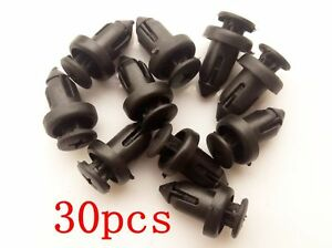 50xNylon Bumper Cover Push-Type Clips For Toyota Camry 1992-ON 90467-09145