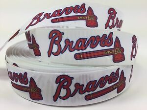 Image Is Loading By The Yard 1 034 Printed Atlanta Braves